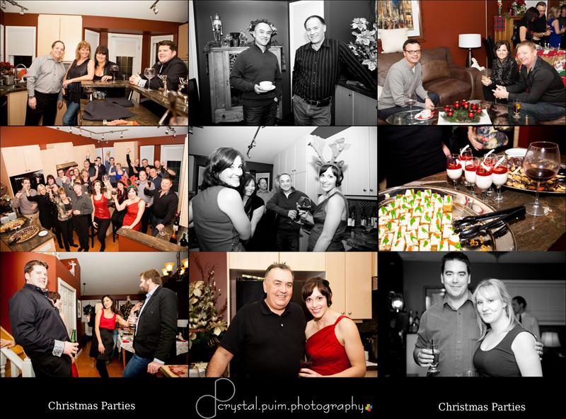 Christmas Party Photos - Crystal Puim Photography