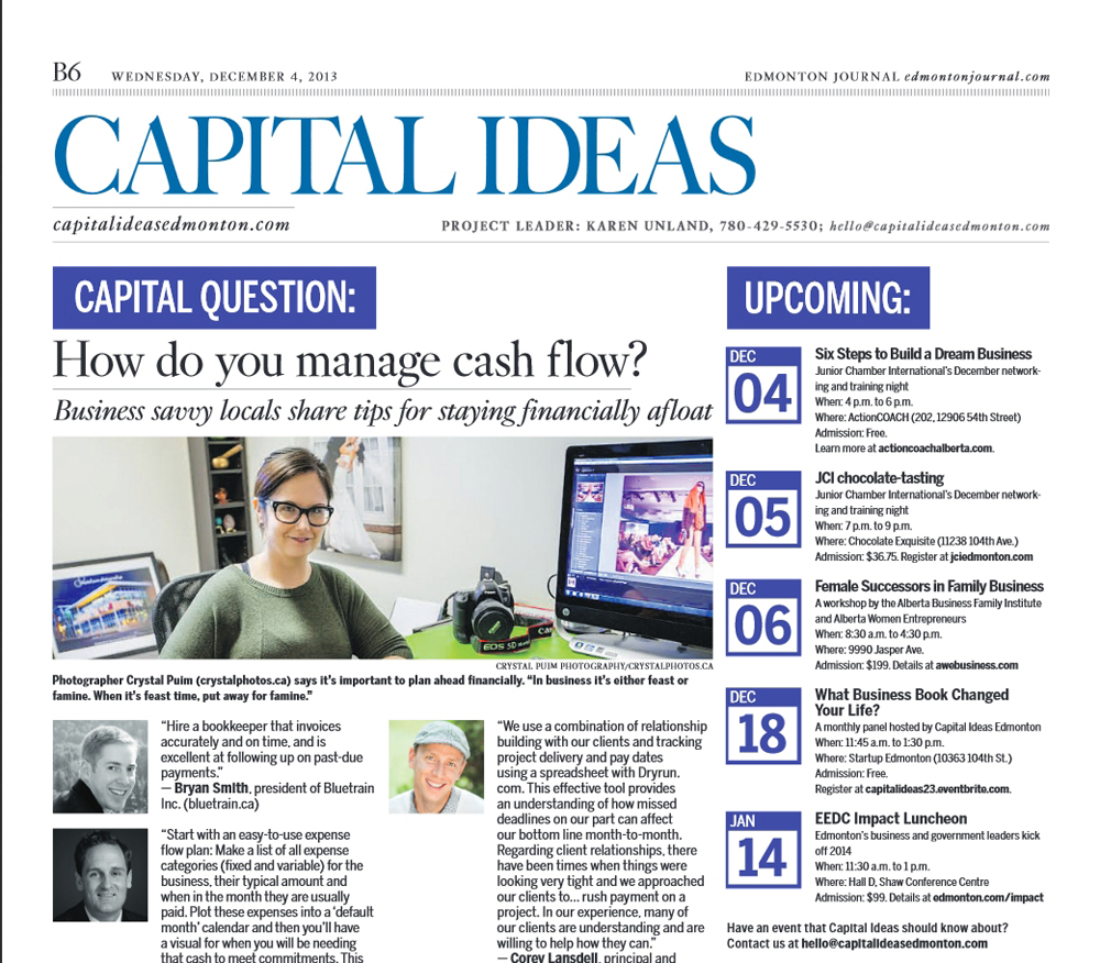 CAPITAL IDEAS WED DEC 12 2013