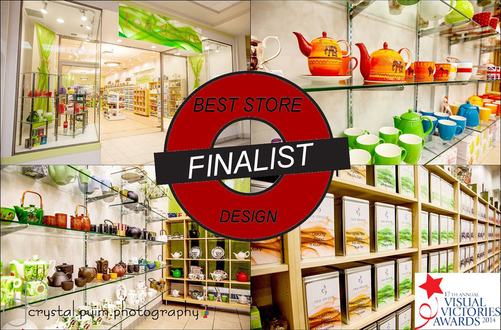 Best Store Design Tea Desire