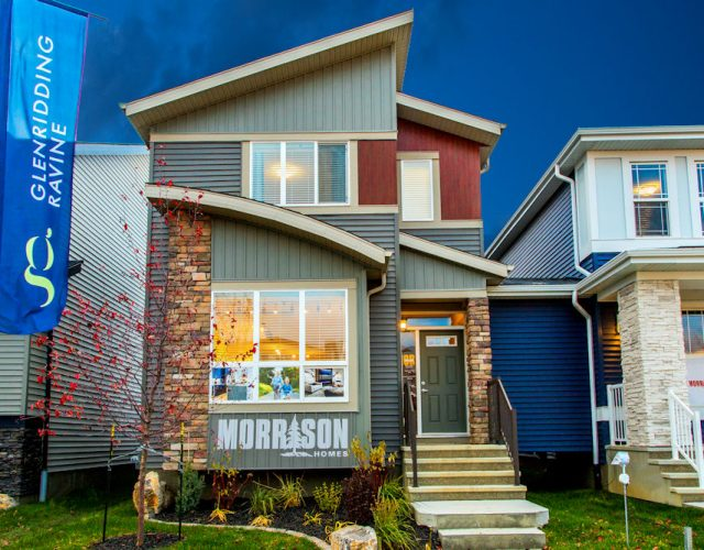 Morrison Homes, Edmonton Showhome Photographer, Edmonton photographer, Edmonton corporate photographer, Crystal Puim Photography, crystalphotos, Edmonton Homebuilders, Edmonton Showhome Photography, Edmonton Architectural Photographer, Nighttime exteriors
