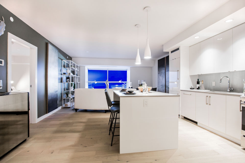 Edmonton Ice District Sky Residences Suite H Crystal Puim Photography