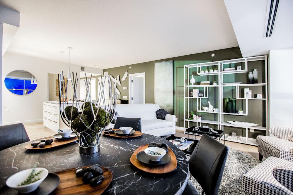 Edmonton Ice District Sky Residences Suite H Crystal Puim Photography
