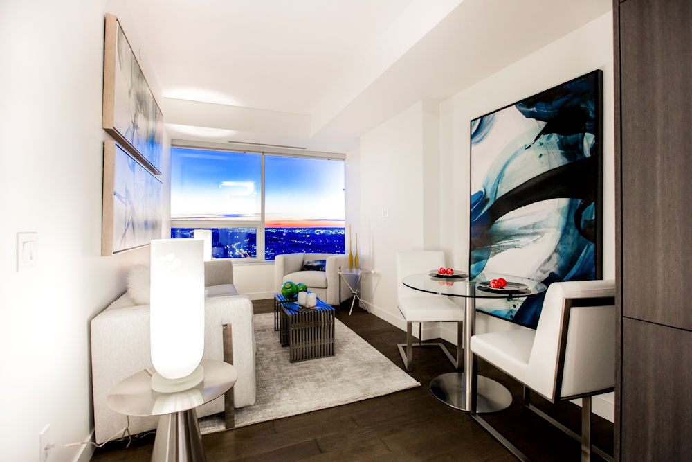Edmonton Ice District Sky Residences Suite C Crystal Puim Photography