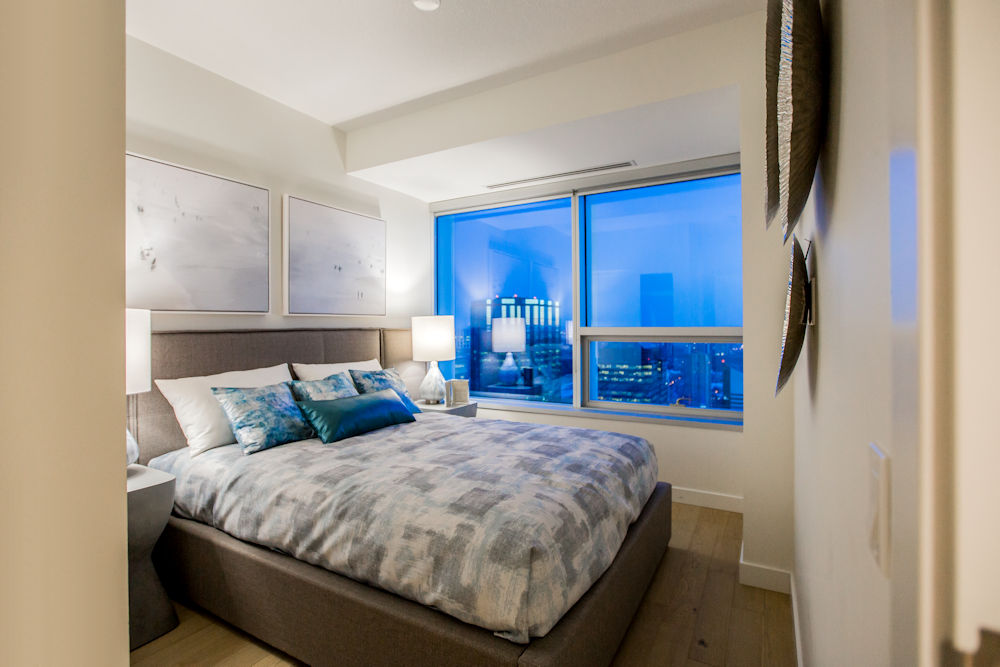 Edmonton Ice District Sky Residences Suite B Crystal Puim Photography