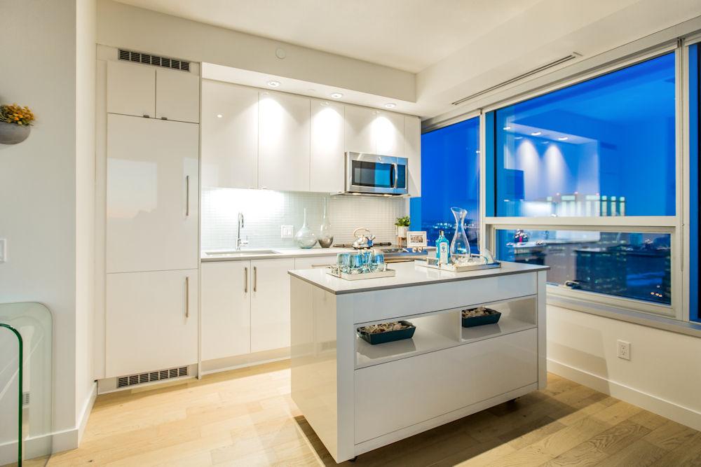 Edmonton Ice District Sky Residences Suite B Crystal Puim Photography