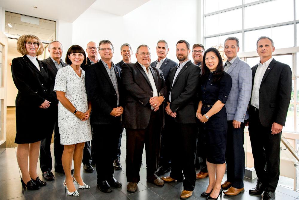Chandos Construction Board of Directors 2019 Crystal Puim Photography Edmonton