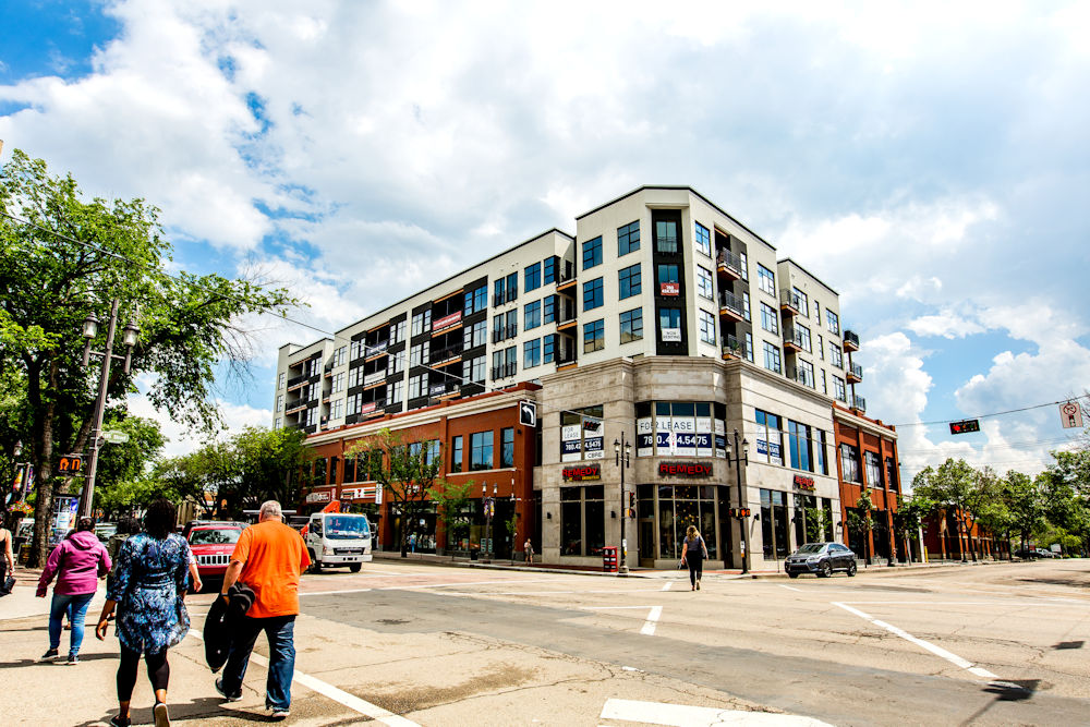 Clark Builders Raymond Block Architecture Photography Crystal Puim Photography Whyte Avenue Edmonton Exterior