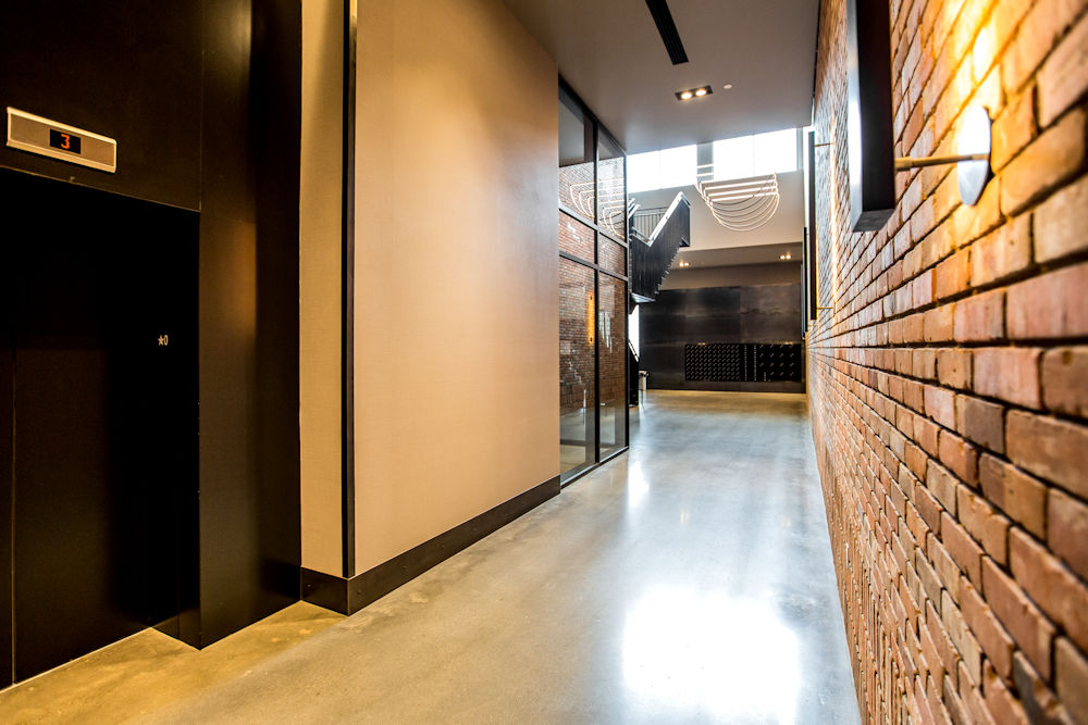 Clark Builders Raymond Block Architecture Photography Crystal Puim Photography Whyte Avenue Edmonton Lobby