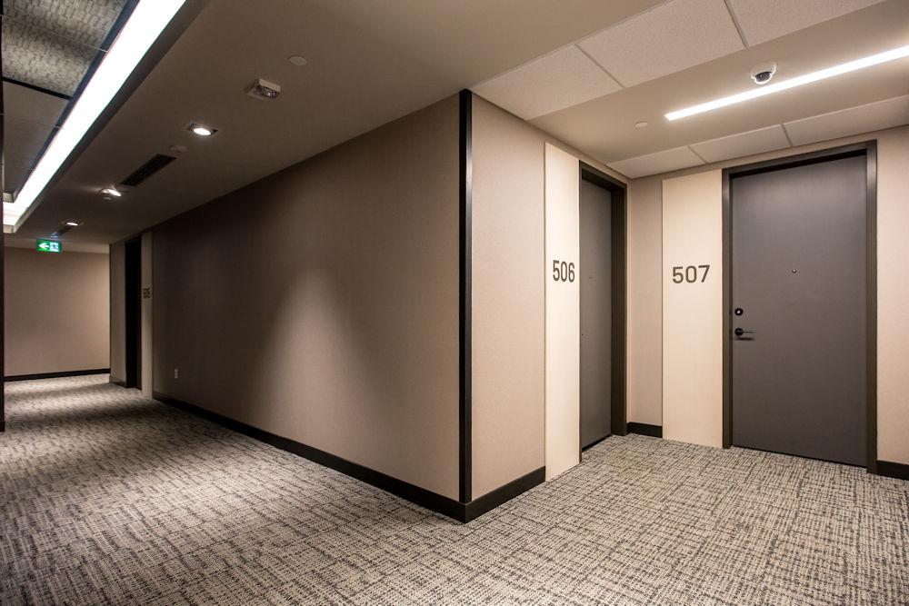 Clark Builders Raymond Block Architecture Photography Crystal Puim Photography Whyte Avenue Edmonton Hallway