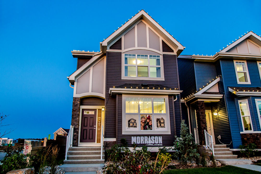 Edmonton Homebuilders Morrison Homes Sonoma in Walker Summit by Crystal Puim Photography