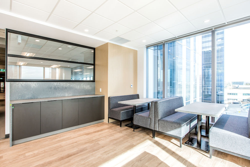 Edmonton Commercial Construction HSBC Place Renovation by PCL photos by Crystal Puim Photography