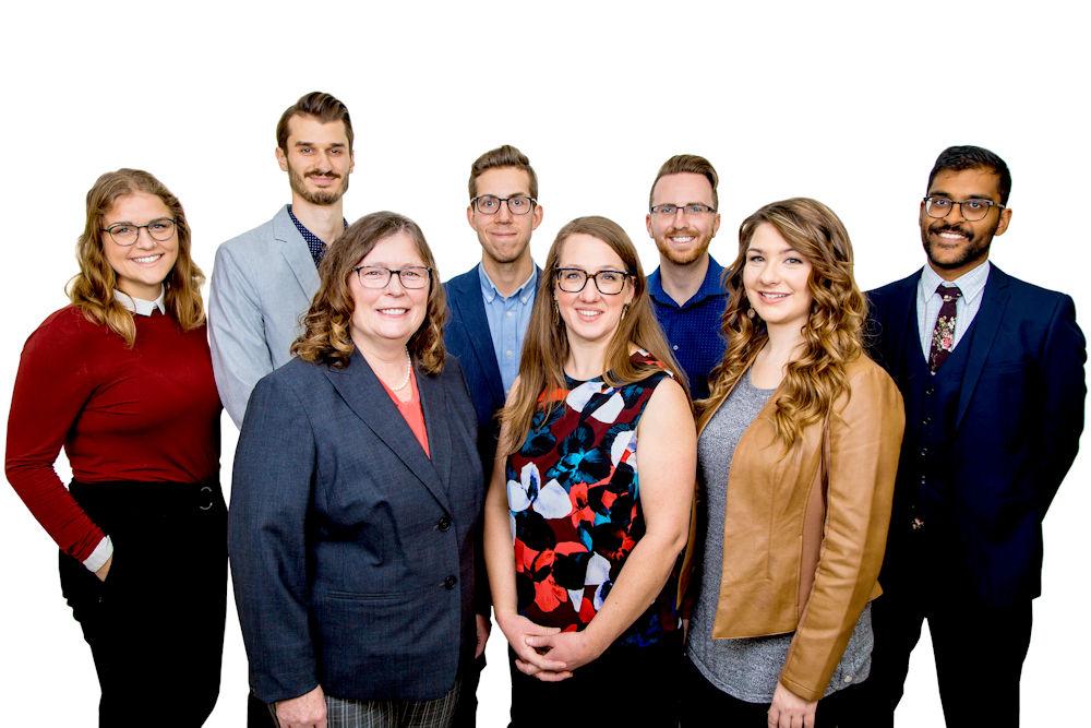 Corporate team photo Edmonton Alberta