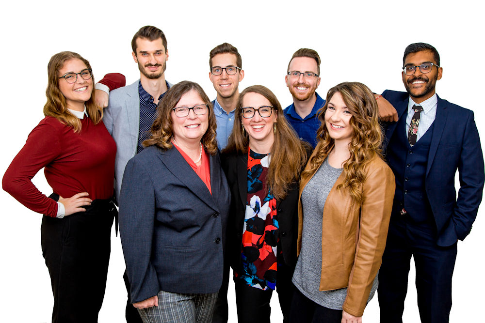 Corporate group photo Edmonton Alberta