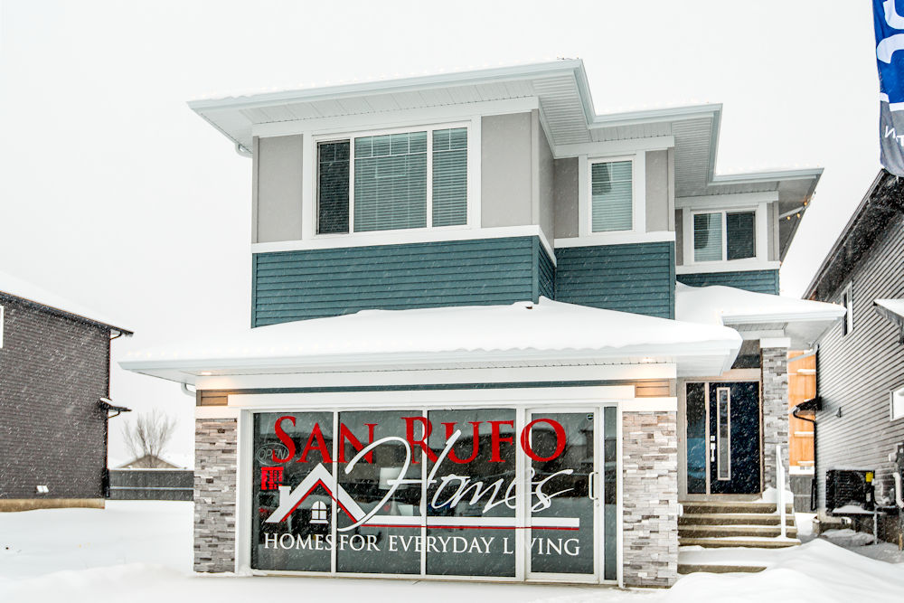 Edmonton Homebuilders Exterior Image of San Rufo Home Schonsee 17224 81St NW by Crystal Puim Photography