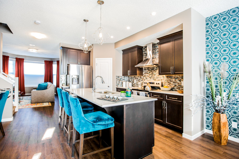 Edmonton Homebuilders Morrison Homes Sutton in Walker Summit by Crystal Puim Photography