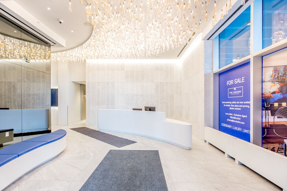 JW Marriot Ice District Suites by PCL Photography by Crystal Puim Photography Commercial Photography Hallway