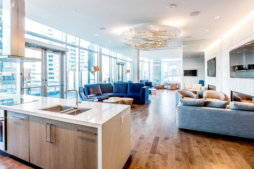 JW Marriot Ice District Suites by PCL Photography by Crystal Puim Photography Commercial Photography Amenities