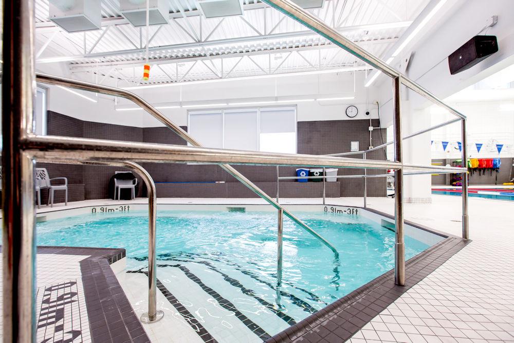 Bonnie Doon Leisure Centre Rehabilitation by Chandos Construction Ltd Photography by Crystal Puim Photography Commercial Photography Hot tub