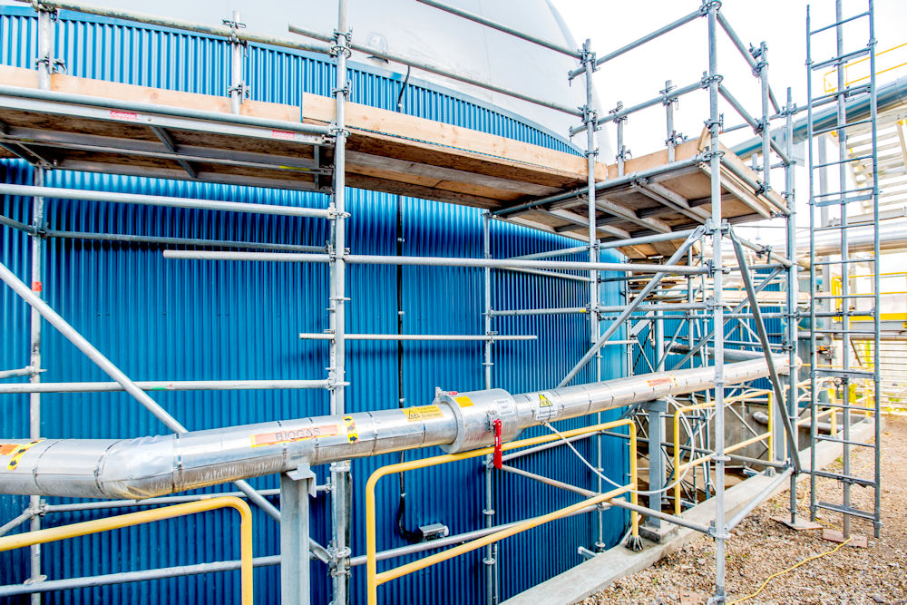 HSADF Digestate PFRP Project Photography by Crystal Puim Photography. Client Chandos Construction Edmonton Alberta.