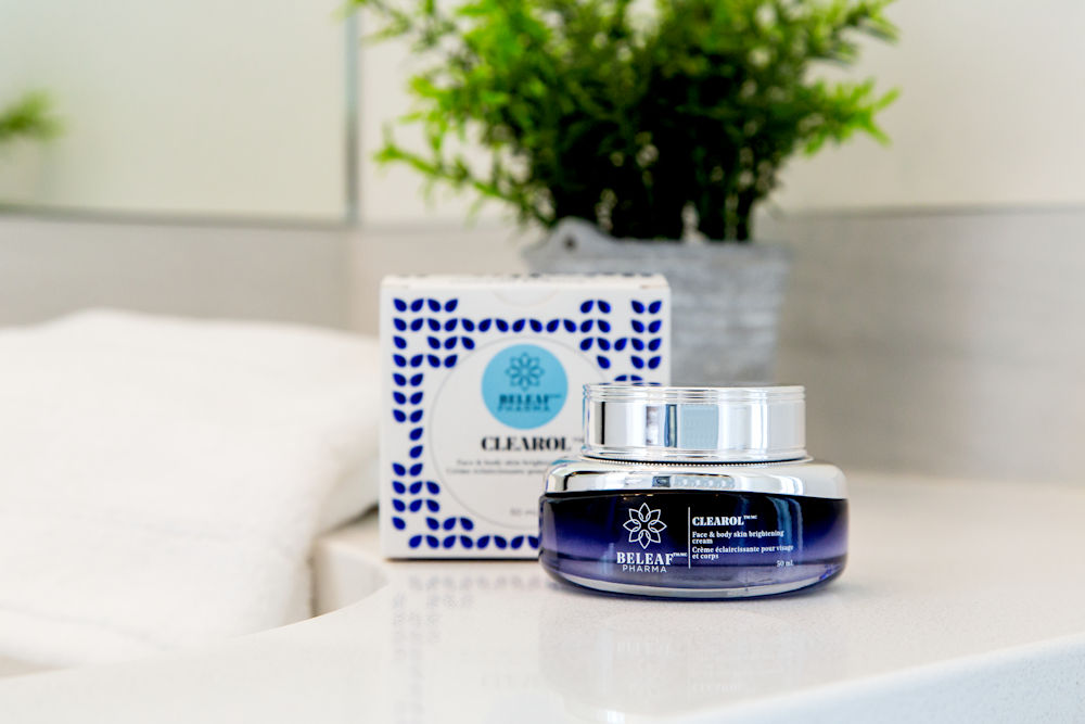 Product Branding and Lifestyle Photography by Crystal Puim Photography Client BeLeaf Pharma Skincare Line Edmonton Alberta