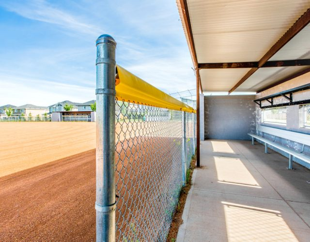 Community Photography and Streetscapes by Crystal Puim Photography in Edmonton Alberta Client Lamont Land Harvest Ridge Community Photos Spruce Grove- photo of baseball diamond