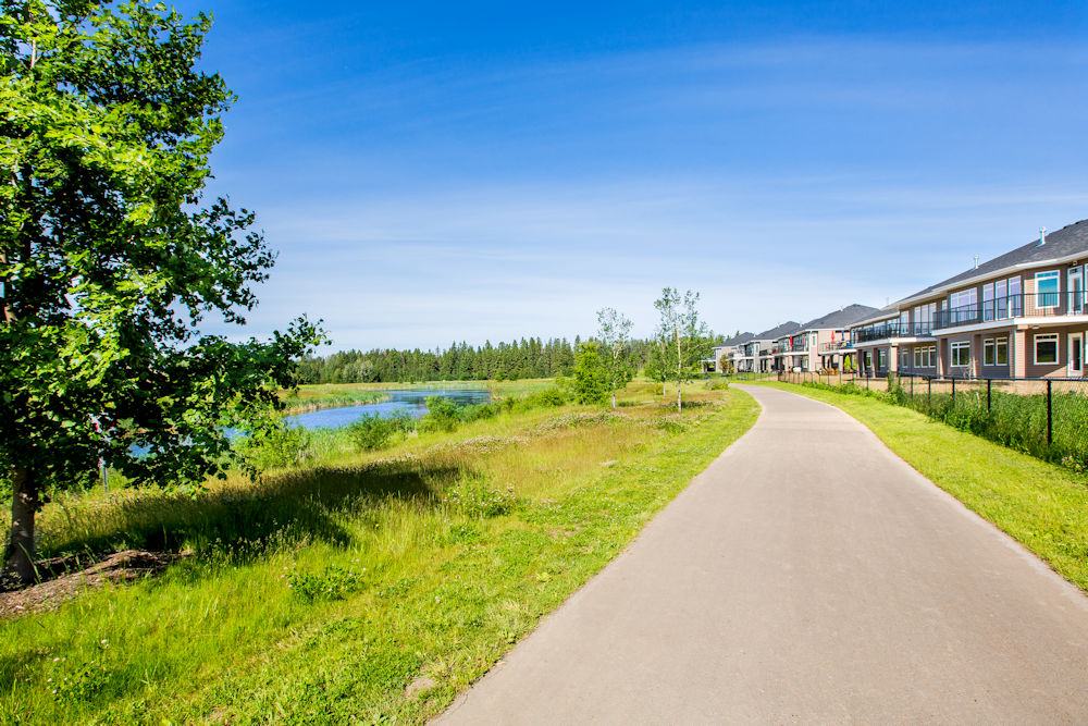Community Photography and Streetscapes by Crystal Puim Photography in Edmonton Alberta Client Lamont Land Harvest Ridge Community Photos Spruce Grove Walking Paths