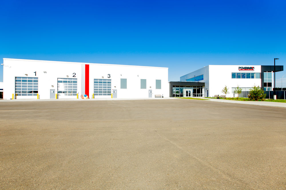 Pembina Warehouse Photos by Crystal Puim Photography Client Clark Builders Construction Drayton Valley Alberta Architectural Photography