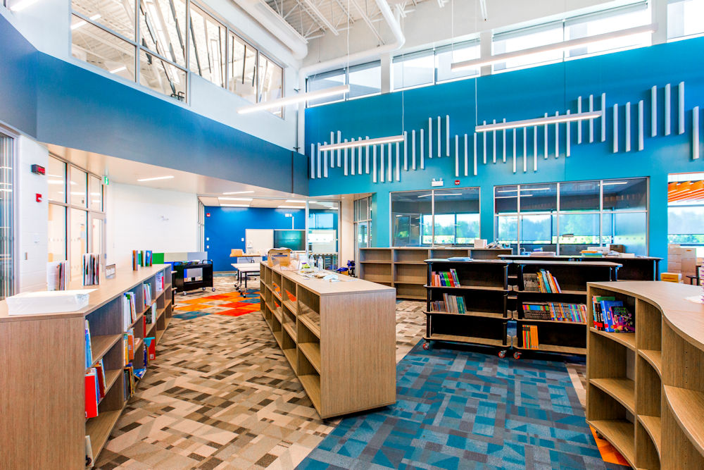 Wye Replacement School Photos by Crystal Puim Photography Client Clark Builders Construction Sherwood Park Alberta Architectural Photography
