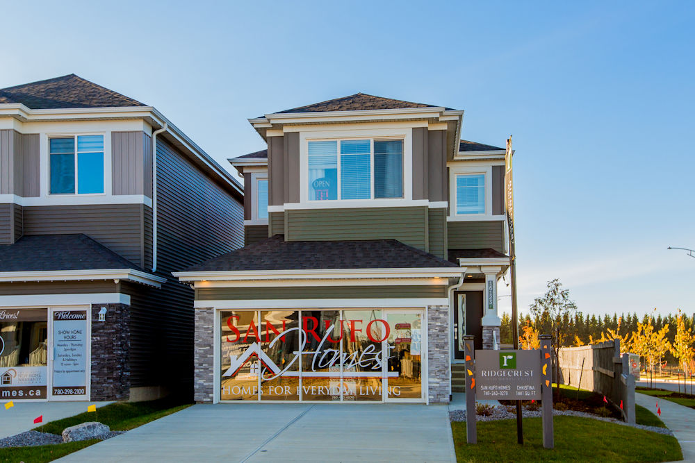 Exteriors and Showhome Photography by Crystal Puim Photography in Edmonton Alberta Client San Rufo Homes